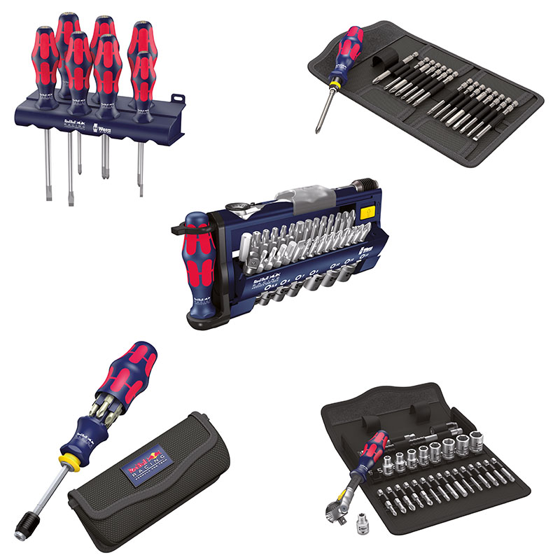 Die ultimativen Red Bull Racing Tool Sets