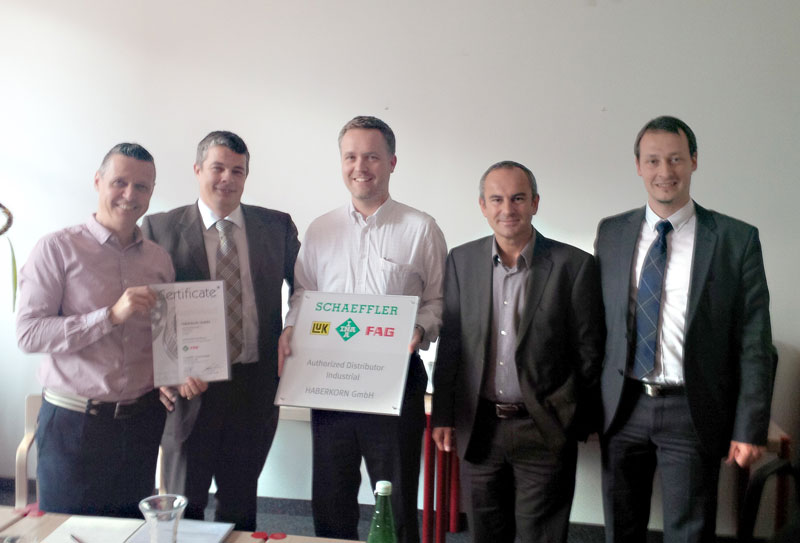"""Authorized Distributor Industrial"" der Schaeffler Gruppe"