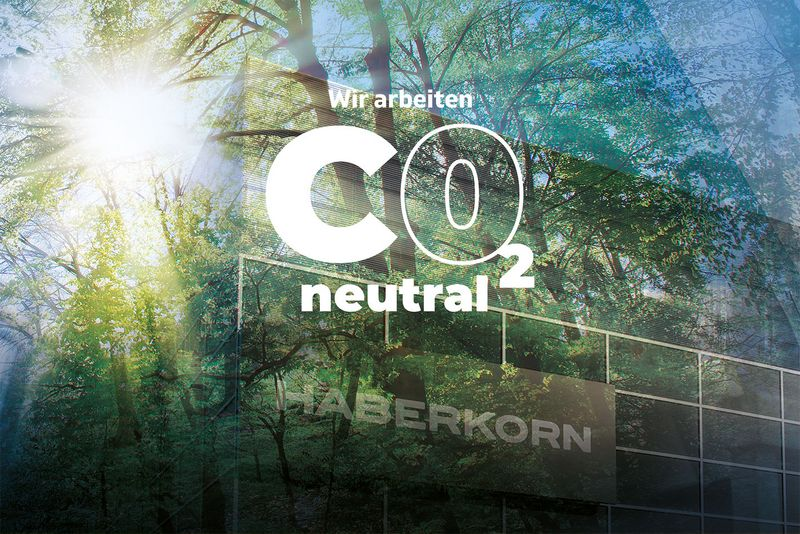 Haberkorn ist CO2-neutral