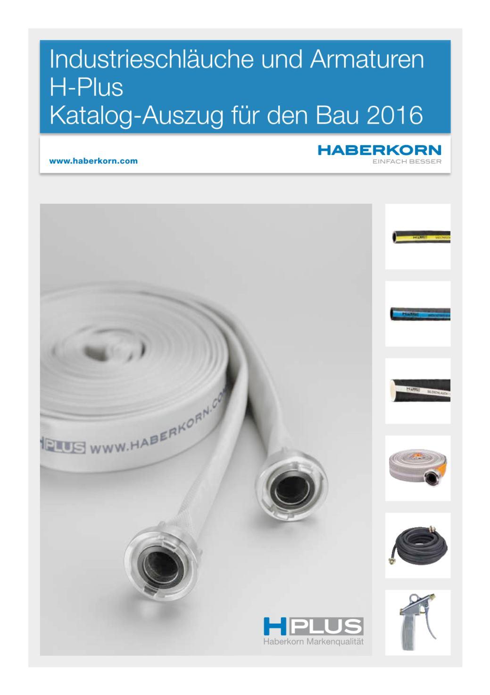 Katalogauszug Industrieschläuche und Armaturen H-Plus